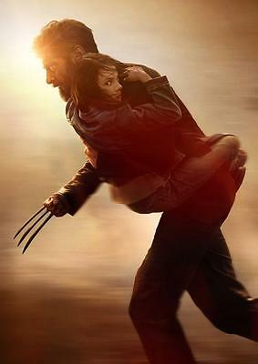 LOGAN POSTER Wolverine Movie X Men Marvel Print Photo Wall Art Poster A3 A4