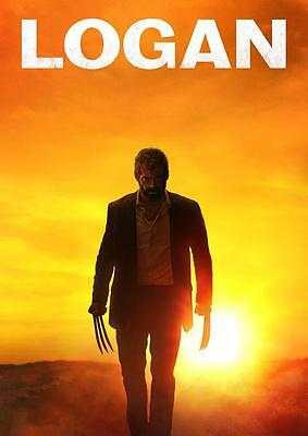 LOGAN POSTER  Movie Wolverine X Men Marvel Print Photo Wall Art Poster A3 A4