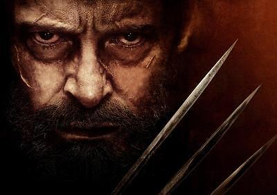 LOGAN POSTER Movie Marvel Wolverine X Men Print Photo Pic Wall Art Poster A3 A4
