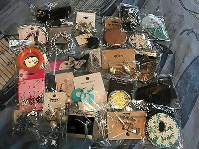 50 New Pairs of Earrings from Various Fashion Jewelry Stores -Hoop, Dangle, Stud