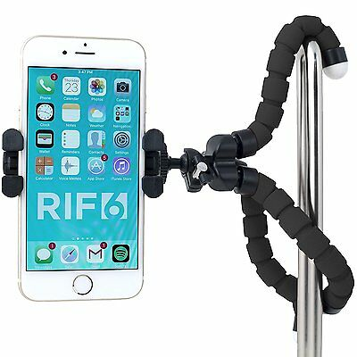 Flexible Portable Mini Tripod for iPhone Digital Camera Webcam Lightweight Black