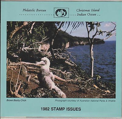 (K28-34) 1982 Christmas Island annual stamp pack