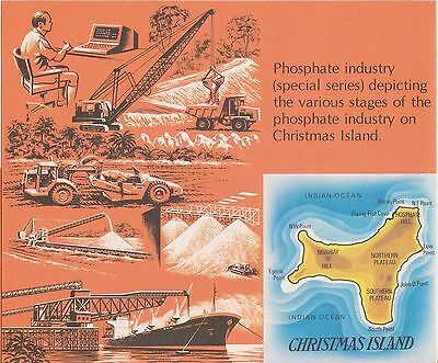 (K28-5) 1980 Christmas Island 16set Phosphate industry stamp pack