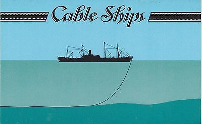 (K28-41) 1985 Cocos Keeling Islands 3set cable laying ships stamp pack