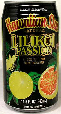 FULL 11½oz Can Taste of Hawaii Hawaiian Sun Natural Lilikoi Passion Fruit Drink