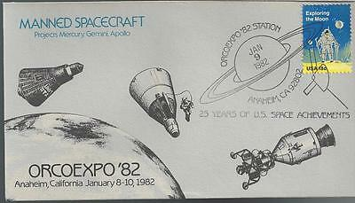 1982 ORCOEXPO Manned Spacecraft 2