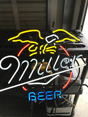 Vintage RARE!!! Miller Beer Neon Advertising Display Light Sign 1996