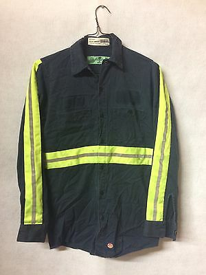 Red Kap Mens Hi Visibility Work Shirt Class 2 Level 2