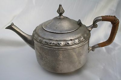 Vintage 1950s Pewter Tea Service Tiel CK Holland  Netherland Tea Pot