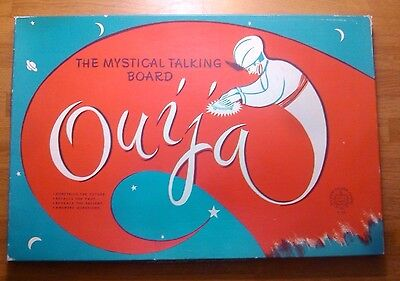 The Mystical Talking Board Ouija Vintage Copp Clark Game In Box Good Condition