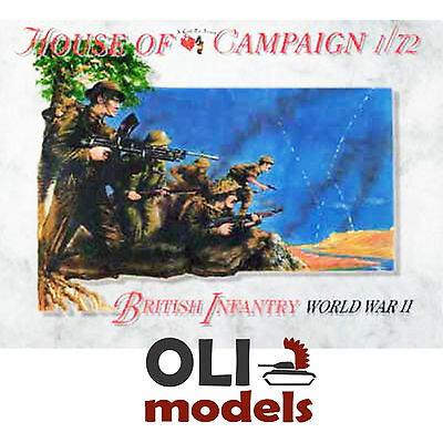 1/72 British Infantry of World War II (32) Figures Set - A Call to Arms 52