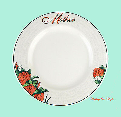 """Syracuse China, MOTHERS DAY Plate / Platter, NEAR MINT! Endearment, 12-1/8"""""""