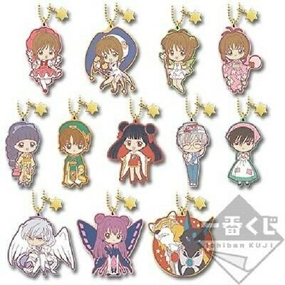 CARDCAPTOR SAKURA Anime Rubber Keychain Strap Charm Good Collection Ver
