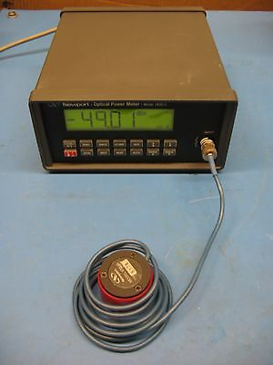 Newport 1830C Power Meter Mainframe and 818-IR Detector with Calibration Module