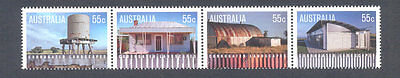 Australia-Landscapes mnh set (3258/61)Architecture- 2009