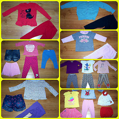 BUNDLE of BABY GIRLS CLOTHES *26 ITEMS* 18 - 24 months incl.Mothercare,M@S