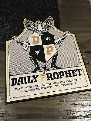 Harry Potter The Daily Prophet Wall Plaque By The Noble Collection