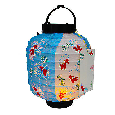 Decorative Golden Fish Lights Pop Up Paper Lantern