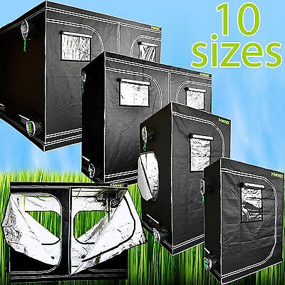 MATRIX Hydroponic Grow Tent Room 600D Reflective Diamond Mylar Plant Growing