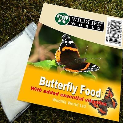 Butterfly Food with Vitamins - Garden Wildlife