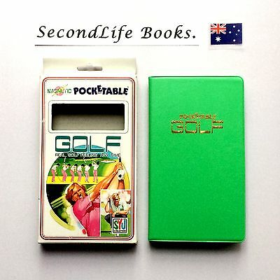 (VINTAGE) Magnetic Pocketable Golf ~ SYU Creation (1992). Real Golf Feeling!
