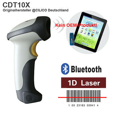 Original CILICO USB+ Bluetooth Wifi-Laser-1D Barcodescanner Android/iOS/Windows