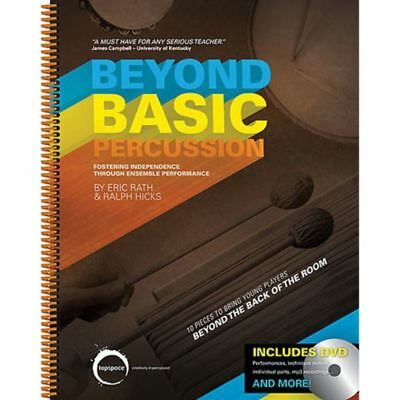 Beyond Basic Percussion Book Dvd