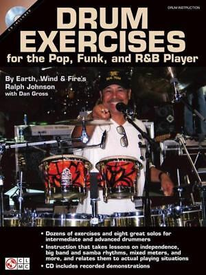 Drum Exercises For Pop Funk & R&B Players Book & Cd