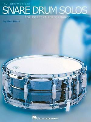 40 Intermediate Snare Drum Solos For Concert