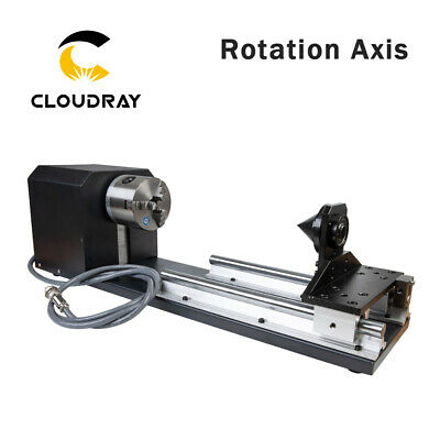 80mm Rotation Axis with Chucks Stepper Motors for CNC Router Milling Engraver