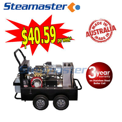 Buster 1317F ELECTRIC HIGH HOT WATER CLEANER PRESSURE WASHER 2500PSI 415v 13LPM