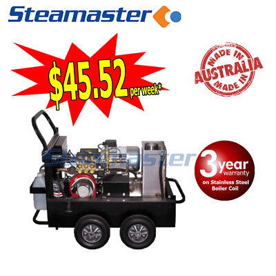 3000PSI Buster 1321F HIGH ELECTRIC HOT WATER CLEANER PRESSURE WASHER 13LPM