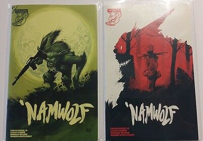 Namwolf #1 Regular And Variant Cover Set! Unread! Nm+