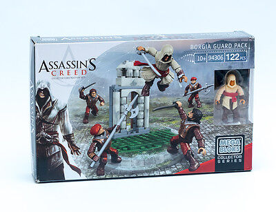Mattel Mega Bloks 94306 - Assassins Creed  Borgia Guard Pack 122 Teile Kinofilm