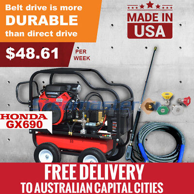 5000Psi Industrial High Pressure Water Cleaners Washer Petrol Hurricane 2135E
