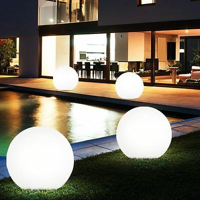 outdoor LED Spike Lights Solar Balls white IP44 Garden Pathways Flower bed