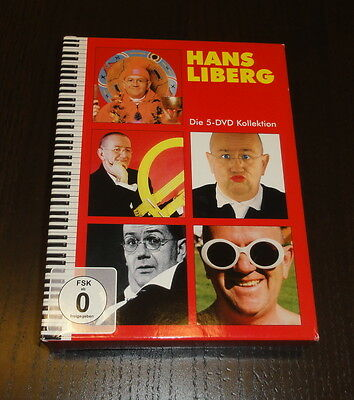 Hans Liberg - Die 5 DVD Kollektion | DVD-Box TOP!