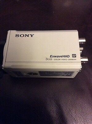 Sony DXC-990 Color 3 CCD Camera - Professionally Tested And Calibrated CCDWorld