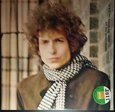 BOB DYLAN - Blonde On Blonde - Vinyl 2 LPs - 1967  - Ltd.Ed. - Sammlerstück
