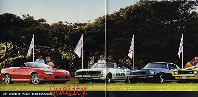1998 Chevrolet Camaro Ss Z28 32 Page Car Sales Brochure Catalog