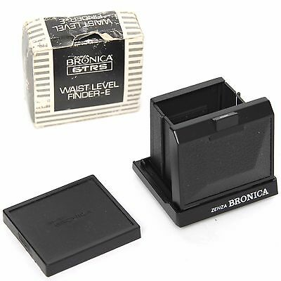 Zenza Bronica Waist Level Finder-E for ETRS Boxed with Base Cap - VGC