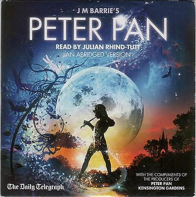 Peter Pan Read By Julian Rhind-Tutt – Promo Audiobook Cd: 79 Mins