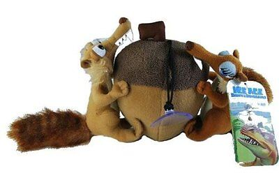 Ice Age Stuffed toy Nut with Scrat and Scratte Girl 20 cm Stuffed Animal