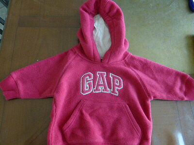 Sweat Polaire 6-12 Mois Gap Fillette