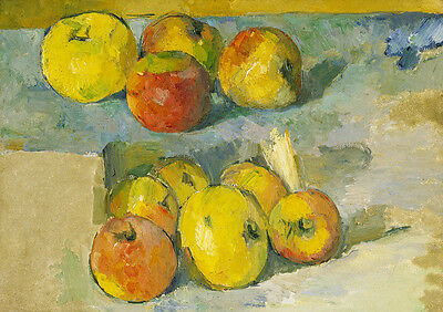 Tulips and Apples Paul Cezanne: Still Life 4210 Art Print//Poster