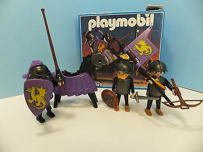 Playmobil 3669 Vintage Dragon Knights Set with Box EUC & Complete