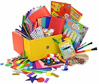 Bumper Arts and Doodle Drawers Crafts Kit Fun Kids Childrens Great Gift Box Set