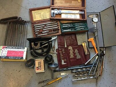 HUGE Machinist Lot Starrett Inside Outside Micrometer Dial Indicator Caliper X17