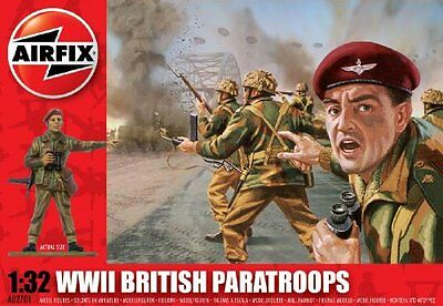 Airfix A02701 WWII British Paratroops 1:32 Scale Series 2 Plastic Figures