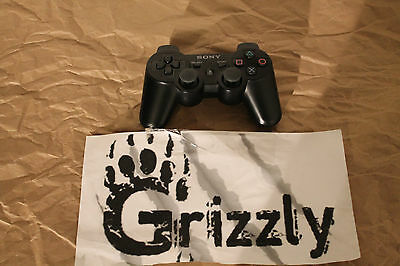 Official Sony Ps3 Playstation 3 Wireless Dualshock 3 Controller Black